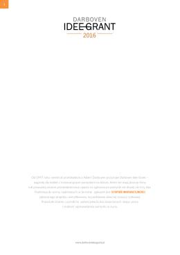 Wypełnij formularz - darboven idee grant