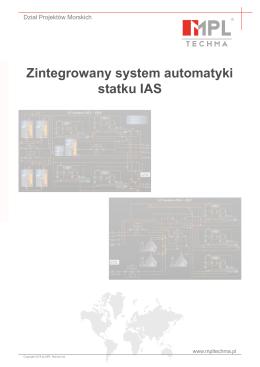 Zintegrowany system automatyki statku IAS