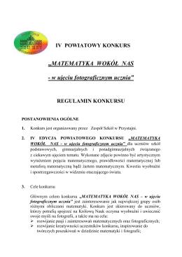 - Zespół Szkół w Przystajni
