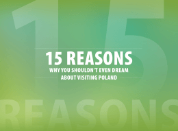 why you shouldn`t even dream about visiting poland