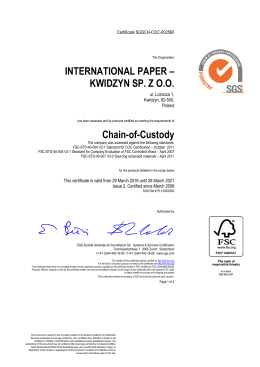 FSC - International Paper
