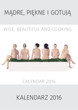 calendar 2016 wise, beautiful and cooking