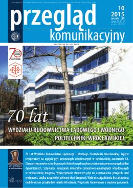 10 70 Lat Wydziału Budownictwa Lądowego i Wodnego Politechniki