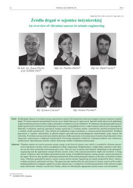 źródło pdf - seismobile