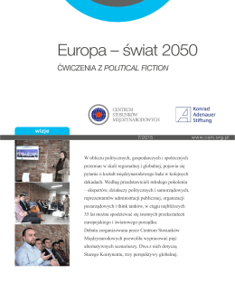 Europa – świat 2050