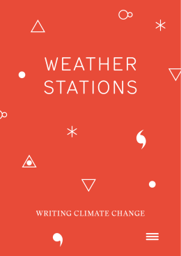 WEATHER STATIONS - Free Word Centre