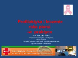 Prezentacja nr 2 - Centrum Onkologii w Bydgoszczy