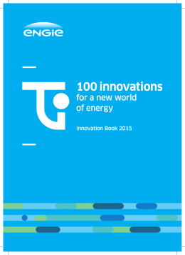 Cahier de l`Innovation 2015 • ENGIE