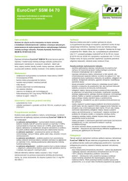 EuroGrout® Brandschtzmortel EuroCret® SSM 04 70
