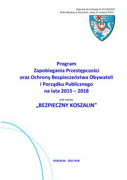 """""""BEZPIECZNY KOSZALIN"""""""