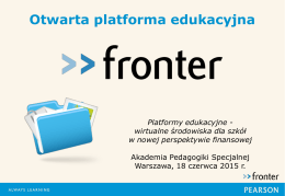 Otwarta platforma edukacyjna