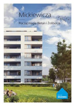 Mickiewicza - Mieszkania Skanska