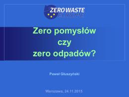 Paweł Głuszyński - Monitorujemy odpady
