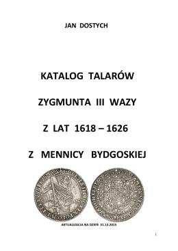 Zygmunt III Waza cz.2 Talary 1618-1626