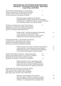 Szczaworyż/Grochowiska - Busko-Zdrój 2 razy 25 km, 23.05.2015 W