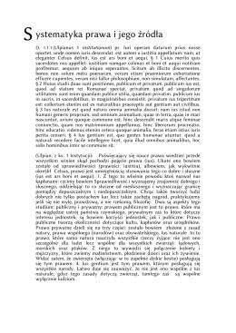 definicje prawa, podziały prawa