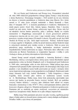 We wsi Kania pod Grabowem nad Prosną (woj. Poznańskie