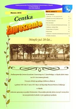 Centka - Środkowopomorskie Centrum Kształcenia Ustawicznego