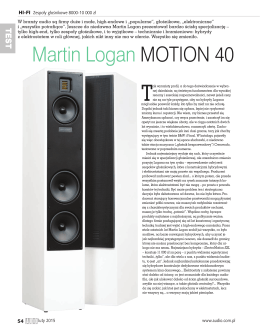 Martin Logan MOTION 40