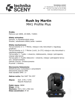 Rush by Martin MH1 Profile Plus