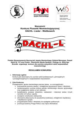 Konkurs Piosenki Niemieckojęzycznej DACHL- Lieder