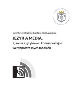 Program konferencji - Uniwersytet Pedagogiczny w Krakowie
