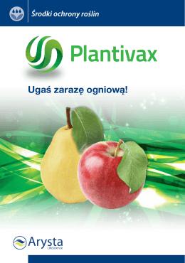 Broszura Plantivax - Arysta LifeScience Polska