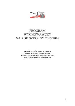 Program Wychowawczy ZSP 2015/2016