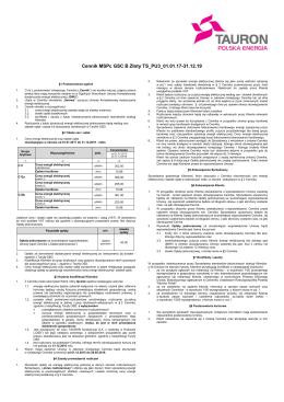 Cennik MSPc GSC B Złoty TS_PU3_01.01.17-31.12.19