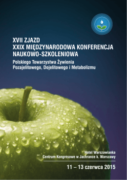 xvii zjazd xxix międzynarodowa konferencja naukowo