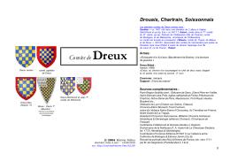 Comtes de Dreux - Racines & Histoire