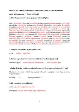 Polština pro překladatelskou praxi