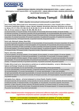 Gmina Nowy Tomyśl - Urząd Miasta i Gminy Nowy Tomyśl