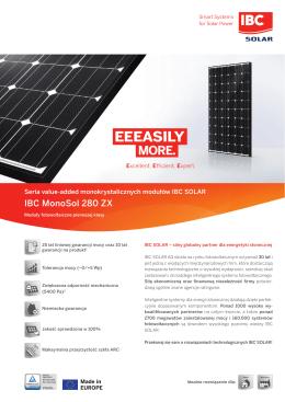 IBC Solar - Ekofachowcy.pl