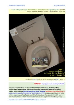 Kurski za Majdan do rządu PDO232 FO von Stefan