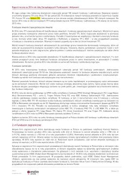 SATURN TFI w raporcie Izby Zarządzających Funduszami i Aktywami