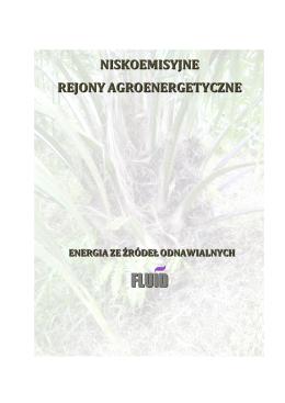 Niskoemisyjne Rejony Agroenergetyczne FLUID S.A.