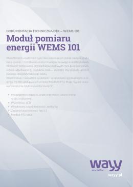 Moduł pomiaru energii WEMS 101