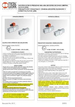 AT17 - Instrukcja - wzmacniacz ciśnienia