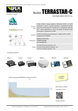 Zobacz opis tej technogii i rezultat testu w naszym - GPS-Pl