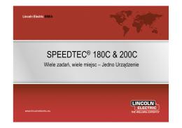 SPEEDTEC ® 180C & 200C Jak to działa?