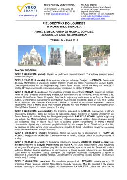 Lourdes i La Salette