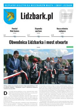 Lidzbark_biuletyn_sierpien