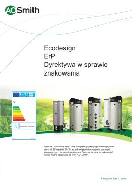 Ecodesign ErP Dyrektywa w sprawie znakowania