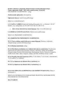 pdf, 292.64 KB - Krakowski Holding Komunalny SA w Krakowie