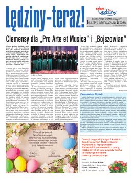 """Clemensy dla """"Pro Arte et Musica"""" i """"Bojszowian"""" - PL"""