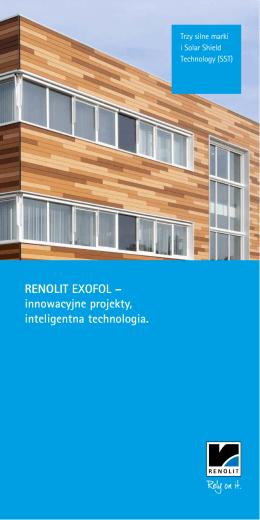 RENOLIT EXOFOL – innowacyjne projekty, inteligentna technologia.