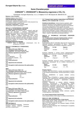 027 Corgon1, Corgon2 - EuroGaz Gdynia Sp. z oo