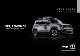 Akcesoria Jeep Renegade