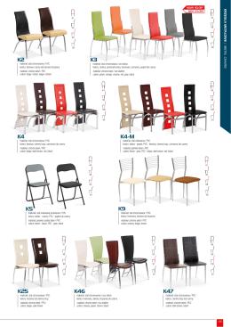 zobacz pełny katalog krzeseł metalowych